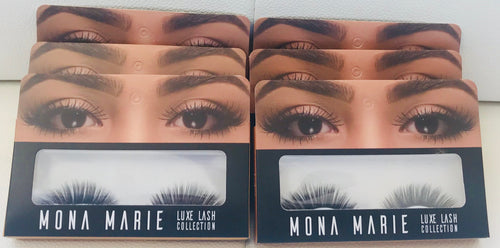 Mona Marie Luxe Lashes - Cruelty Free