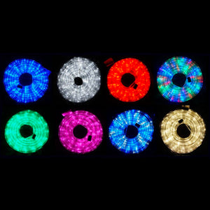 10m LED Rope Light 8 Colours Low Wattage 8 Function Controller