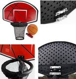 Basketball Hoop Kit for Jumbroo Trampolines Kids Play Fitness Jumping Exercise