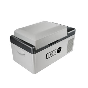 ICE 20L Portable Compressor 2 Way Fridge Freezer 12/24V DC 240V AC