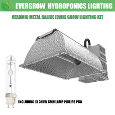 EverGrow 315W CMH - Ceramic Metal Halide Reflector Ballast Kit (3100K)