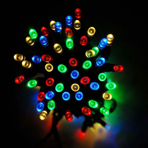 Solar 100-500 LED Fairy String Light Garden Outdoor Extra Long