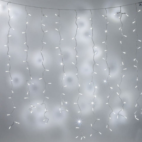 200 LED Curtain Lights Indoor/Outdoor