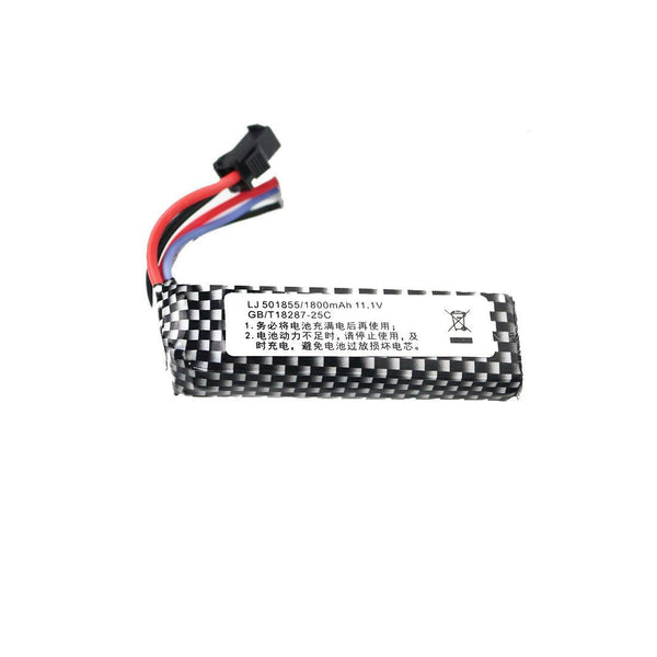 11.1V LiPo Rechargeable Battery Upgrade Kit for RC Toys
