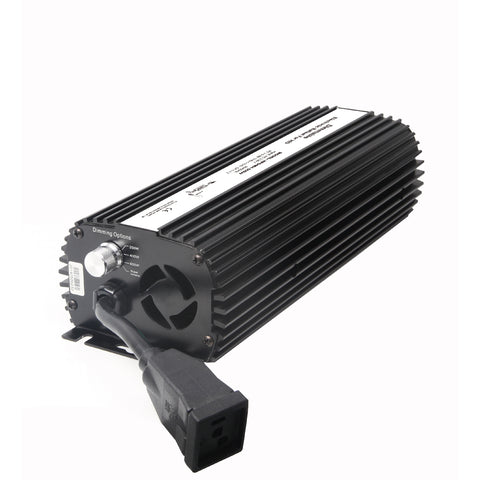 Fan Cooled Dimmable Electronic Ballast 600W HPS/MH Compatible
