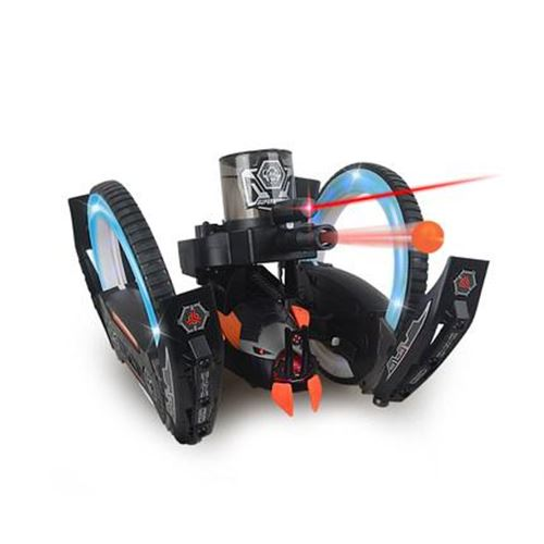 Space Warrior 2 Battle Bot Shooting Soft Bullet RC Remote