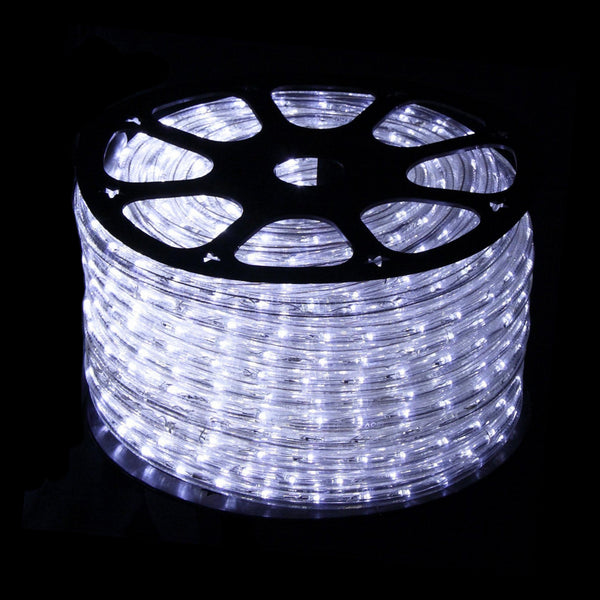 Single Length 50m LED Rope Light with 8 Functions Available in 6 Different Colours