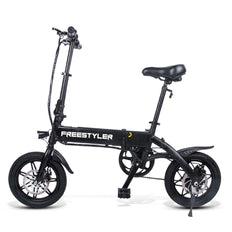 "3rd Gen Freestyler 14"" Full Aluminium Foldable 250W E-Bike Electric Bicycle 6.6Ah 250W Hub Motor"