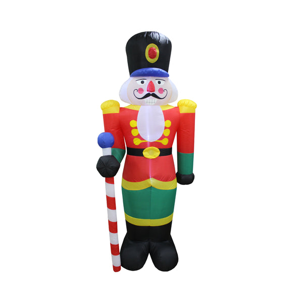 Inflatable 240cm Nutcracker LED Lit