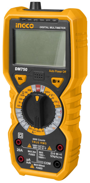INGCO True RMS Digital Multimeter