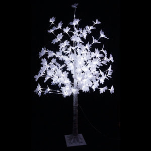 120, 150, 180cm White LED Tips Maple Tree Indoor/Outdoor Use