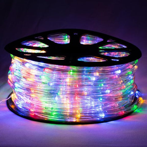 Super Value LED 50m Multi-Colour Rope Light with 8 Functions