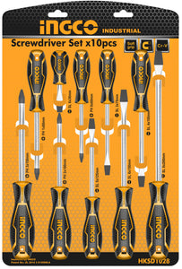 INGCO 10 Pcs Screwdrivers Set