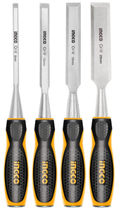 INGCO 4 Pcs Wood Chisels Set
