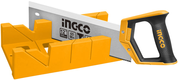 INGCO Mitre Box Hand Saw Combo