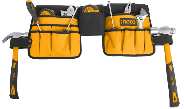 INGCO 14 Pockets Waist Tool Bag