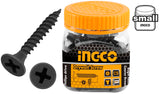 INGCO 200 Pcs 6G Bugle Head 32mm Drywall Screw Fine