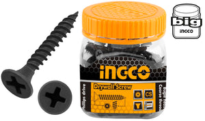 INGCO 120 Pcs 8G Bugle Head 51mm Drywall Screw Fine