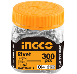 INGCO 300 Pcs 3.2x10mm Rivet