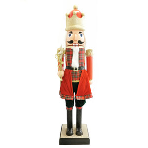 160cm Musical Animated Moving Nutcracker Sings Jingle Bells Christmas Decoration