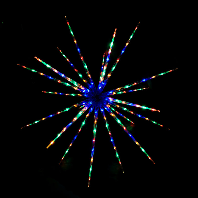160 LED Digitally Controlled Burst Star 100cm Indoor Display Sign