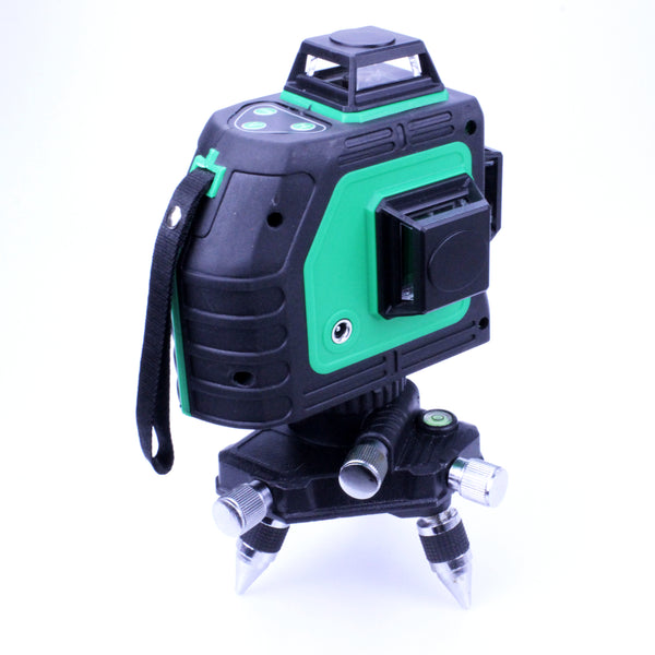 12 Lines 3D Green Laser Level Full 360° Automatic Self Levelling Kit IP54