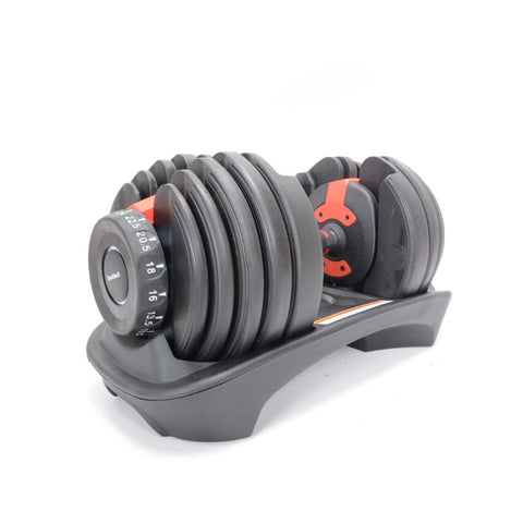 24kg Weight Adjustable Dumbbell 15 in 1 Weight Set
