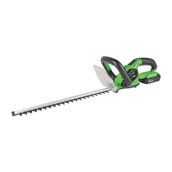 ZION 18V Cordless Electric Hedge Trimmer 2.0Ah Battery Included