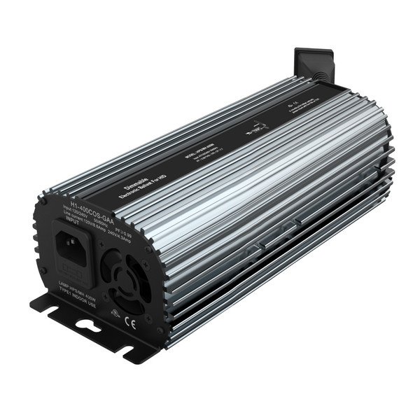 Fan Cooled Dimmable Electronic Ballast 400W HPS/MH Compatible