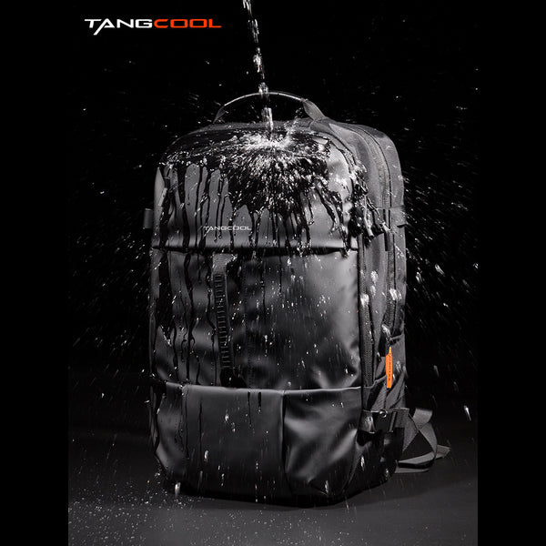 Tangcool 733 Urban Stylish Men's Backpack High Capacity Splash Proof Sports Laptop Bag