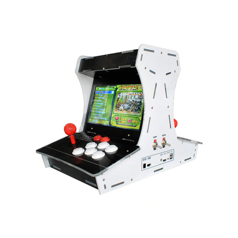 New Release 4 Players Model Pandora Treasure 3D Arcade Machine with 2885 Games Dual HD Screens