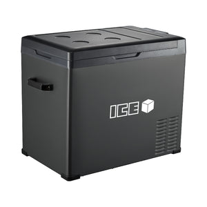 ICE 50L Portable Compressor 2 Way Fridge Freezer 12/24V DC 240V AC