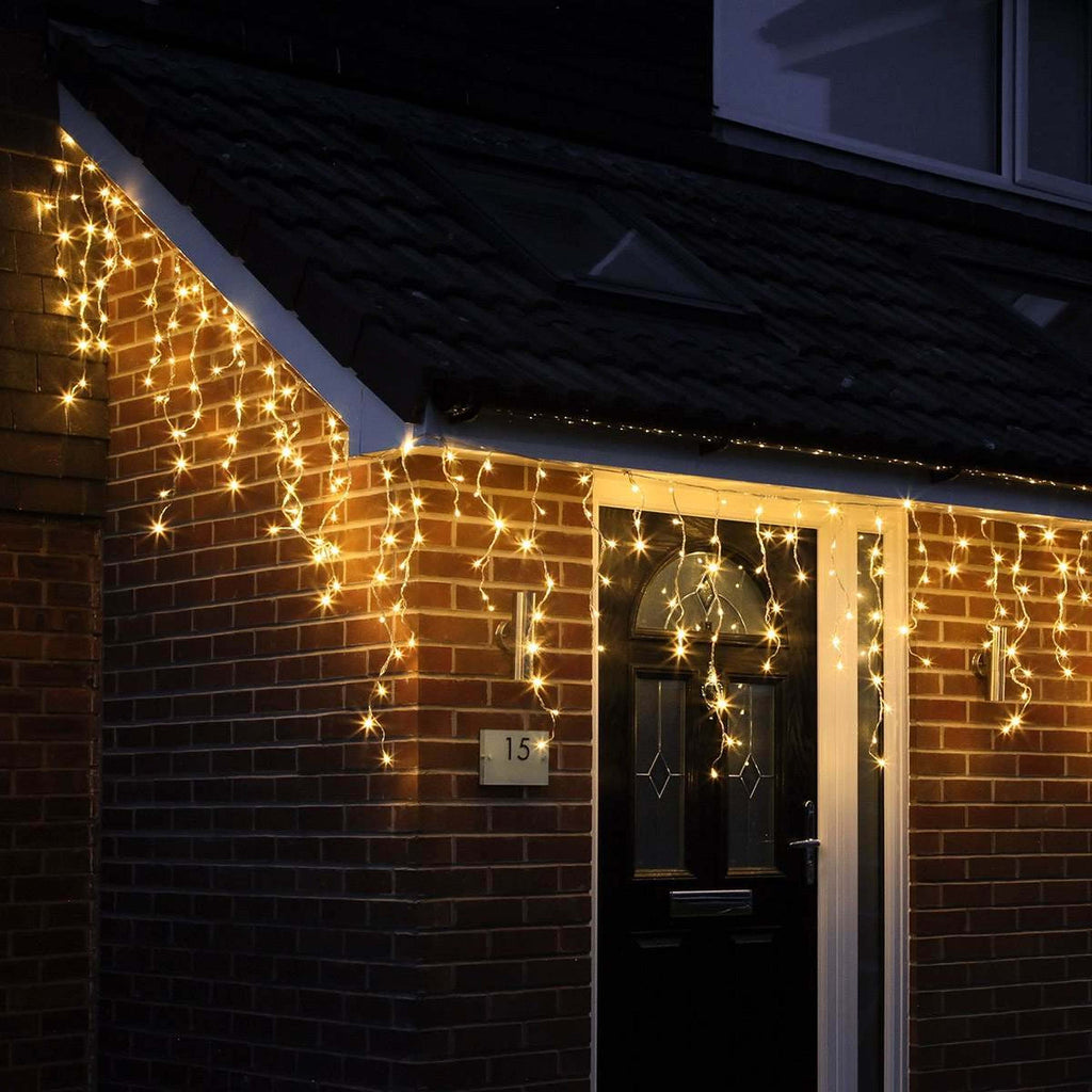 Icicle Lights 500 LED Christmas Events Decorations