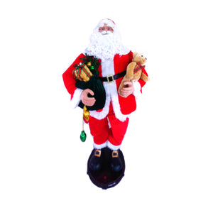 150cm Musical Animated Dancing Santa Claus Sings & Dances 5 Christmas Songs