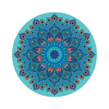 Non Slip Large Round Yoga Mat 3mm Thickness Eco-Friendly 140cm