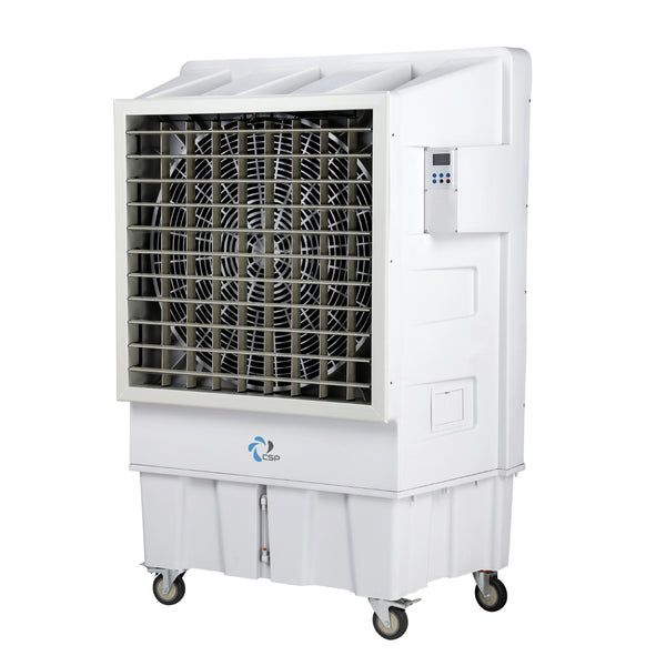 CSP 100L Industrial Grade Commercial Evaporative Air Cooler Indoor/Outdoor 150sqm Coverage