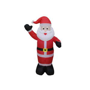 Inflatable 120cm Santa LED Lit