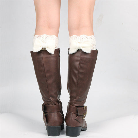 The Sasha Bow   Boot Cuff 6 Colours