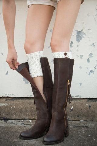 The Sasha Two Button Boot Cuff 7 Colours