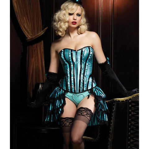 Betty Heart Corset with Skirt