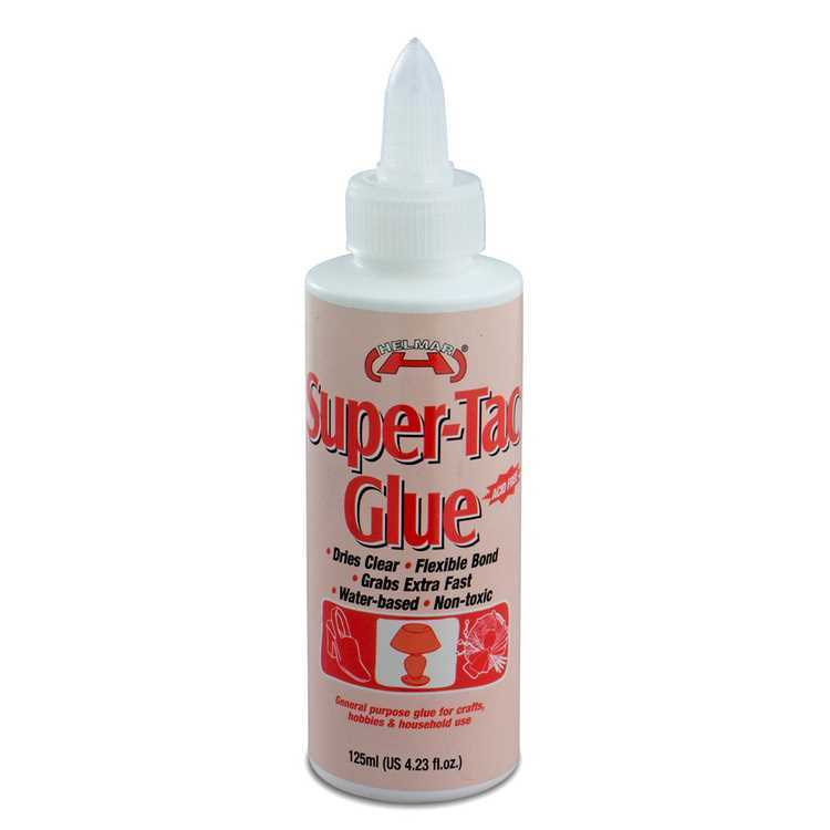 Super Tac Glue for IOD moulds