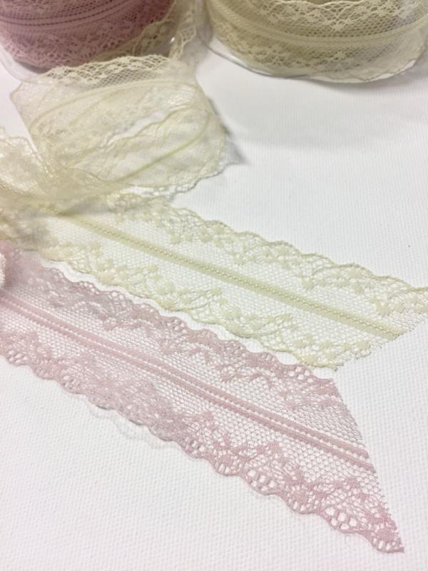 Delicate Antique Lace Ribbon