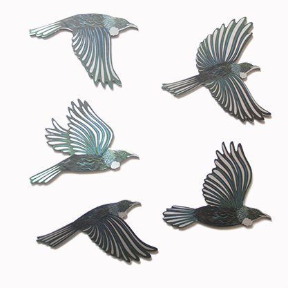 Printed Birds Set- Tui's