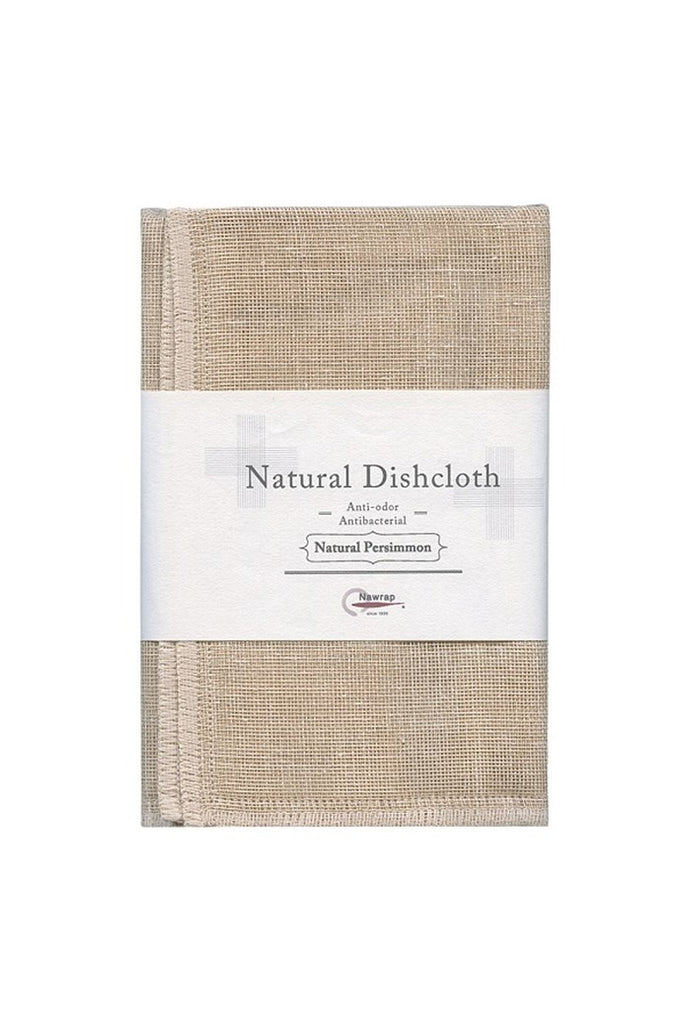 Natural Dishcloth Nawrap persimmon