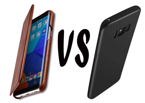Rubber Cases Vs Leather Cases