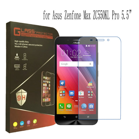 Front Tempered Glass Screen Protector Protective Steel Film for Asus Zenfone Max