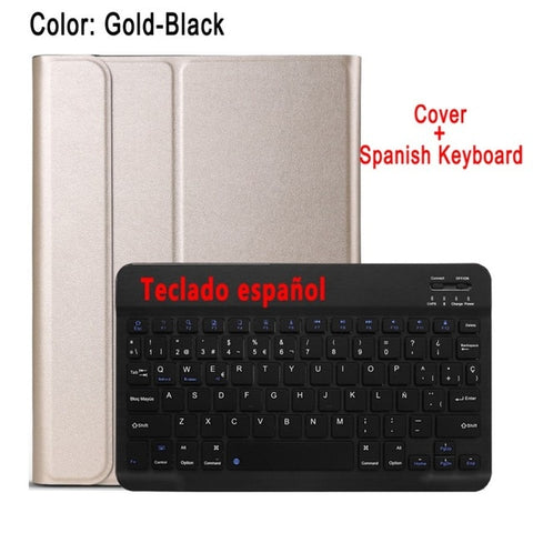 eAmpang Case Keyboard for Apple iPad 10.2 2019 7th Generation