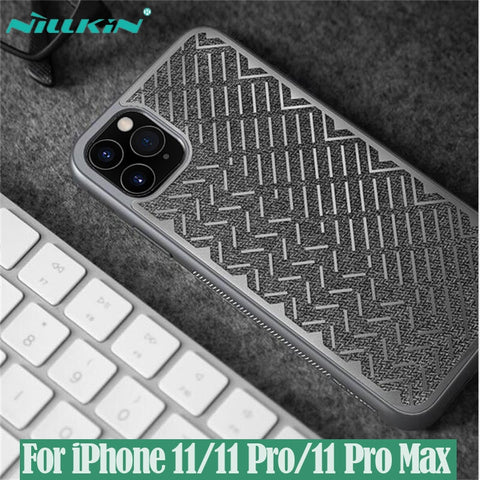 NILLKIN Herringbone Case For iPhone 11, 11 Pro, 11 Max