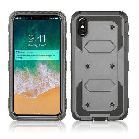 Shockproof Phone Case Belt Clip Back Cover