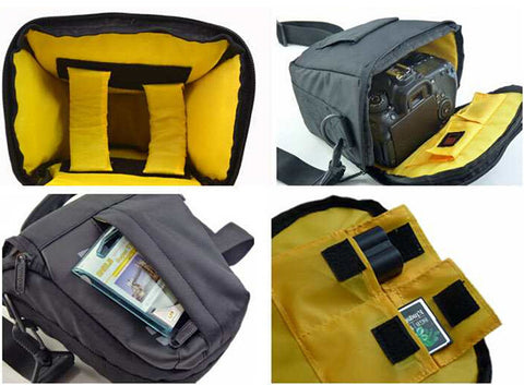 Waterproof Shockproof Camera Shoulder Bag Case  for Nikon D Series